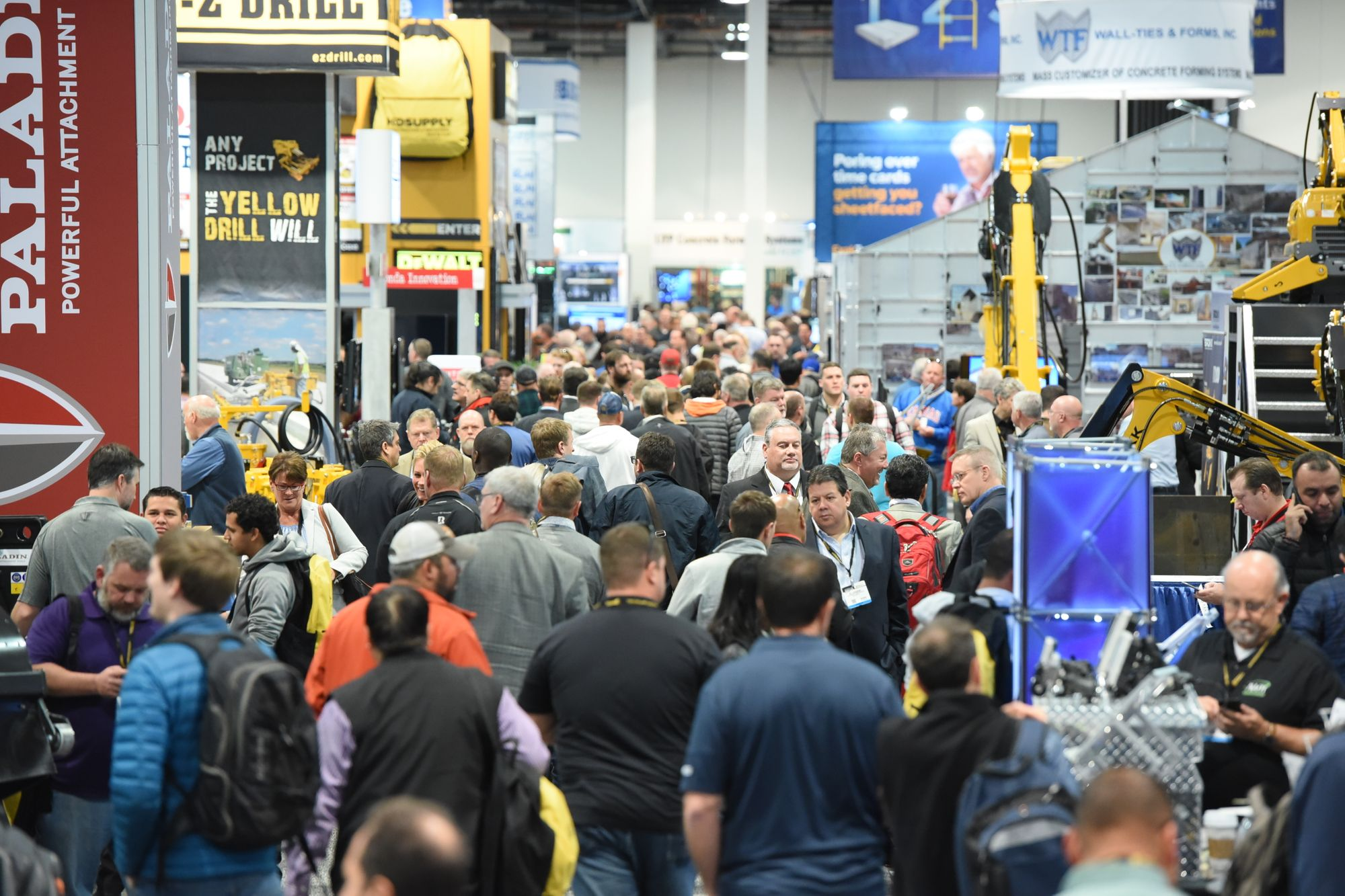 Heading to World of Concrete 2018? Here's our survival guide for trade show attendees